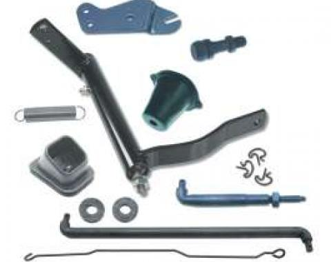 Camaro Clutch Linkage Kit, Complete, Small Block, 1967-1969