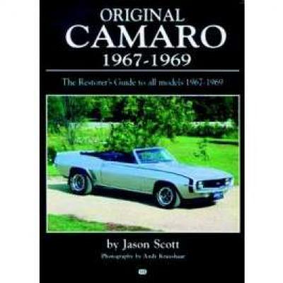 Original Camaro 1967-1969 Book