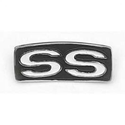 Camaro SS Steering Wheel Emblem, 1969