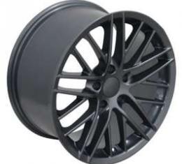 Camaro 18 X 8.5 C6 ZR1 Reproduction Wheel, Gunmetal, 1993-2002
