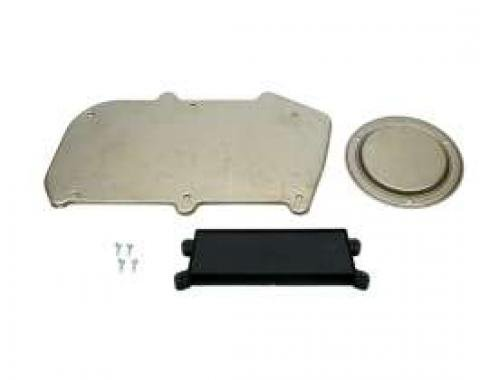 Camaro Firewall, Blower Motor & Heater Control Panel Cover Plate Set, Heater Delete, 1967-1968