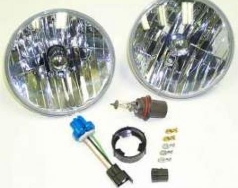 Camaro Halogen Headlight Conversion Kit, 1967-1981