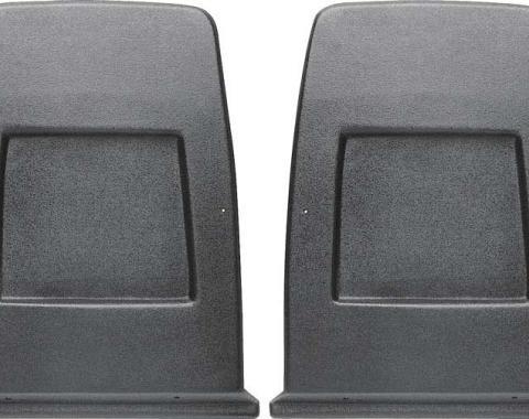 PUI Plastic Bucket Seat Back Panel 1971-77 Camaro/Firebird 71FSB24 | Dark Green