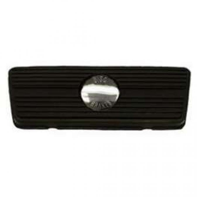 Camaro Brake Pedal Pad, For Cars With Front Disc Brakes & Automatic Transmission, 1967-1970