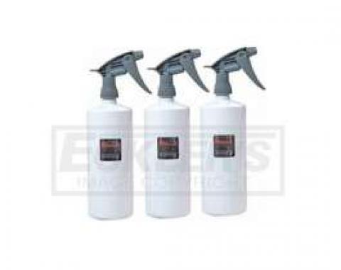 Professional Detailing Supplies - HD Bottles, 3 pk, 16oz. Bottles