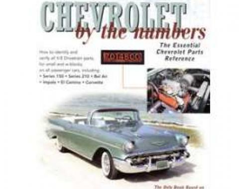 Camaro Book, Chevrolet By The Numbers 1955-1959