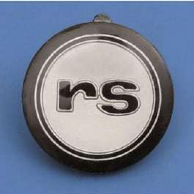 Camaro Horn Cap Button Insert, RS, 1968