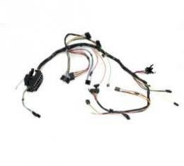 Camaro Underdash Wiring Harness, For Cars With Air Conditioning, Manual Transmission & Without Console, 1970