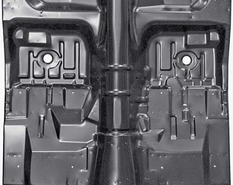 Camaro/Firebird Automatic Floor Pan Complete, with Bracing, 1975-1981