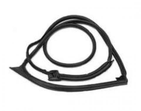 Camaro Door Frame Weatherstrip, Right, For Cars With T-Top Option, 1993-2002