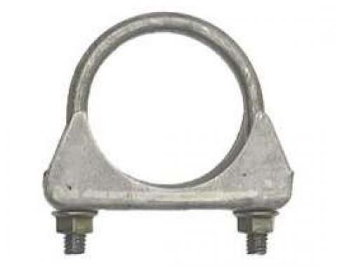 Camaro Exhaust Muffler Clamp, Cradle Style, Steel, 2-1/4, 1967-2011