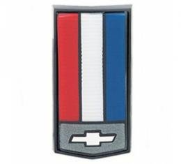 Camaro Header Panel Emblem, Red/White/Blue, 1986-1992