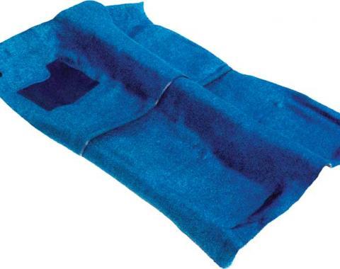 F-Body Superior Molded Carpet Set, 80/20 Raylon/Nylon, Bright Blue, 1967-1968