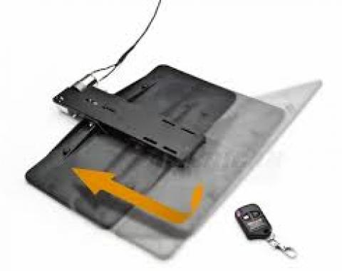 """Camaro Front License Plate Mount, """"Show & Go"""", With Remote, 2010-2013"""