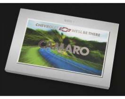 Camaro Owner's Manual, 2001