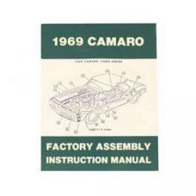 Camaro Factory Assembly Manual, 1969