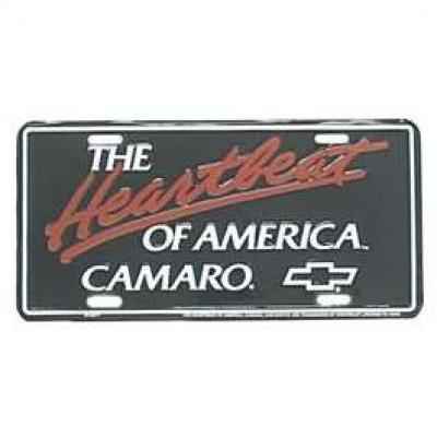License Plate, The Heartbeat Of America