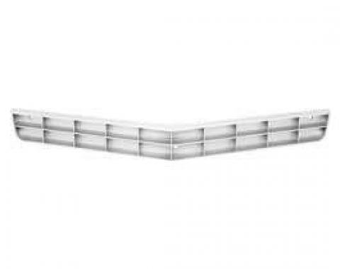 Camaro Lower Grille, Silver, 1978-1979