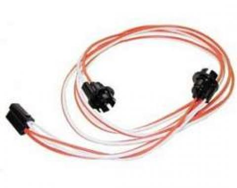 Camaro Courtesy Light Wiring Harness, Under Dash, Coupe, 1967-1968