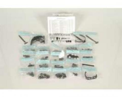 Camaro Underhood Detailing Hardware Kit, Rally Sport (RS), 1969
