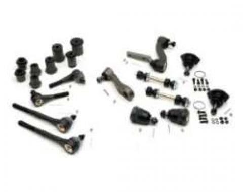 Camaro Suspension Rebuild Kit, Front, Major, For Cars With Standard Ratio Manual Steering, 1968-1969