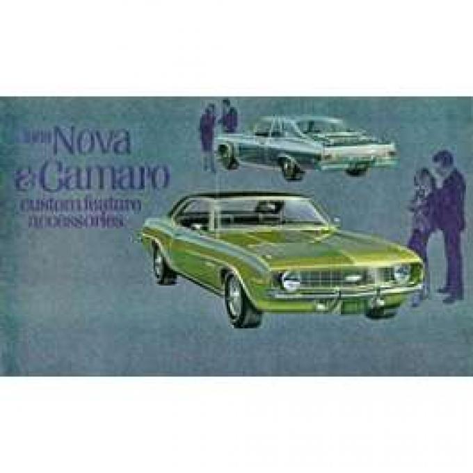 Camaro Custom Feature Accessories Booklet, 1969