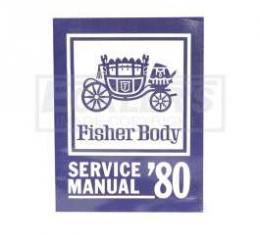 Camaro Fisher Body Manual, 1980