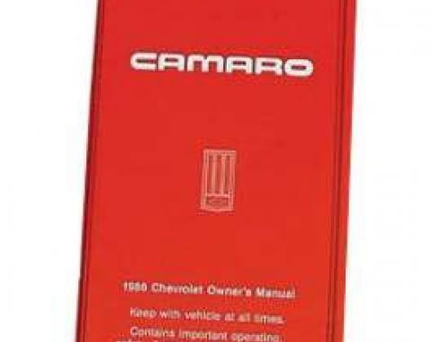 Camaro Owner's Manual, 1986