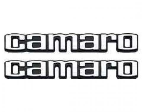 Camaro Emblems, Deluxe Door Panel, 1978-1981