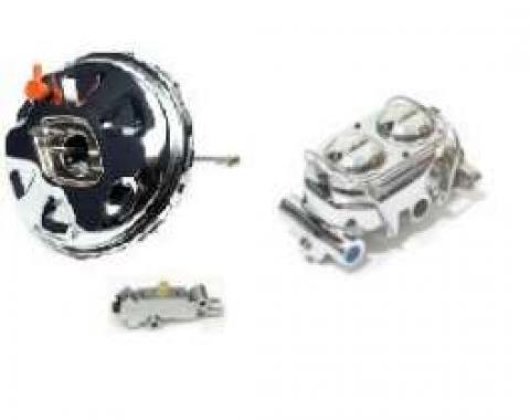 Camaro Power Booster & Master Cylinder Upgrade, 11 Chrome, Disc Brake Conversion, 1967-1969