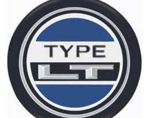 Camaro Steering Wheel Emblem, Type LT, 1973-1978