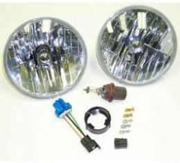 Camaro Halogen Composite Headlight Kit, 1970-1981