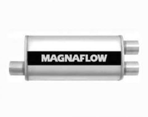 Camaro Magnaflow Performance Satin Stainless Steel Muffler,1984-2002