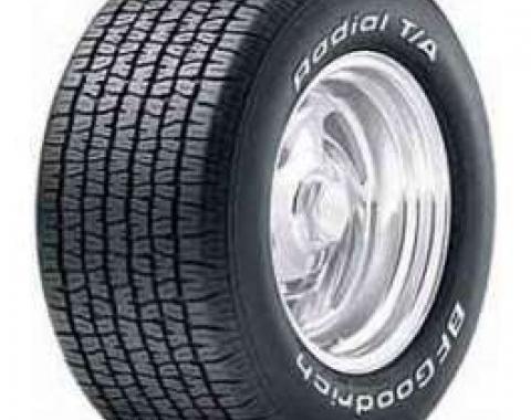 Camaro Radial T/A Tire, P245/60R15, BFG, 1970-1981