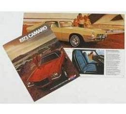 Camaro Sales Brochure, 1973