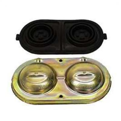Camaro Disc Brake Master Cylinder Cover, With Gasket, 1967-1969