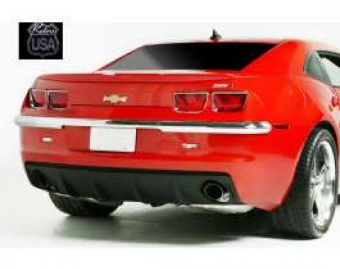 Camaro Chrome Bumper, Rear, 2010-2013