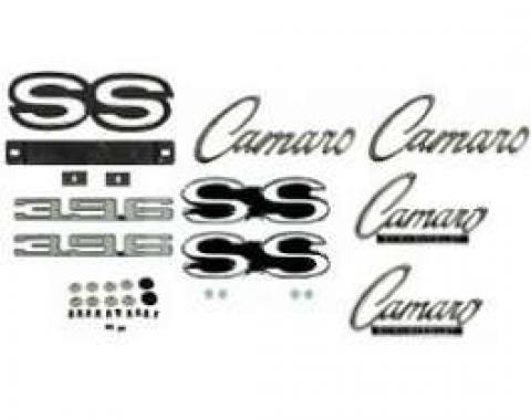 Camaro Emblem Kit, For Super Sport (SS) With 396ci & Rally Sport (RS) Package, 1968