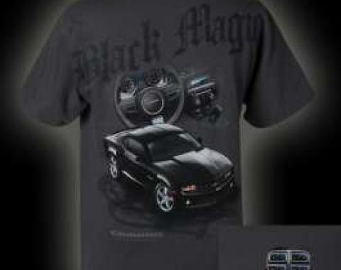 Camaro T-Shirt, Black Magic | X-Large