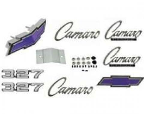 Camaro Emblem Kit, For Cars With Standard Trim (Non-Rally Sport) & 327ci, 1969