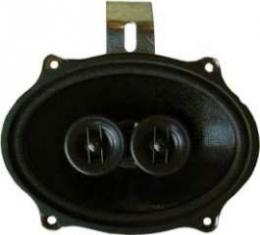 Camaro Speaker, In-Dash, For Cars With Air Conditioning, Custom Autosound, 1967-1969