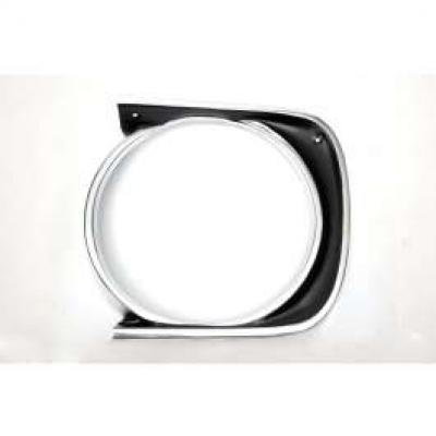 Camaro Headlight Bezel, For Cars With Standard Trim (Non-Rally Sport), Left 1967