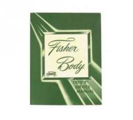 Camaro Fisher F Body Supplement Manual, 1970