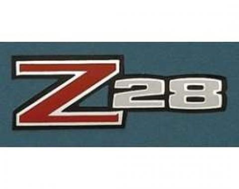 Camaro Rear Spoiler Decal, Z28, 1970-1973