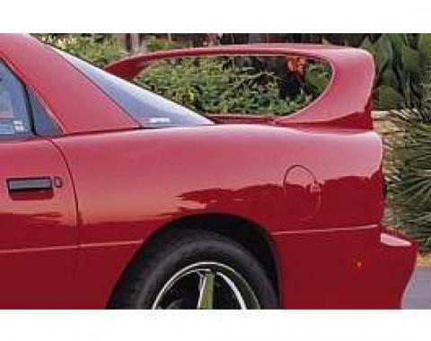 Camaro Rear Spoiler, Super Wing, Wihtout Brake Light Opening, 1993-2002