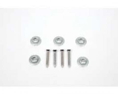 Camaro Center Console Shift Plate Hardware Kit, 1967-1969