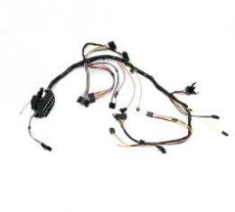Camaro Under Dash Main Wiring Harness, For Cars With Manual Transmission Console Shift & Factory Console Gauges, 1967