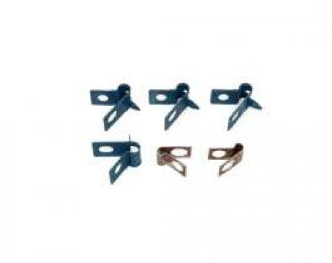 Camaro Brake Line Retainer Clamp Set, 1969