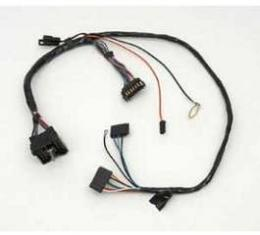 Camaro Instrument Cluster Wiring Harness, With Warning Lights, 1970