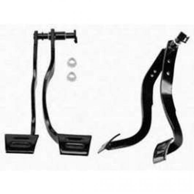 Camaro Pedal Assembly, Brake & Clutch, 1967-1968